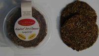 Essener- Brot Olive- Saaten, 5 runde, glutenfrei, salzfrei, Bio,