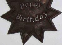 Geburtstagsstern aus roher Schoko, Sonderanfertigung, 40g