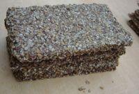 Saat` Ess Brot Protein mit Hanf und Thymian, 4 Stück, Bio, Roh