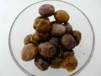 frische schwarze Oliven direkt vom Baum, 100g, lose, roh