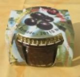 schwarze Olivenpaste mit Käse, 120g, bio